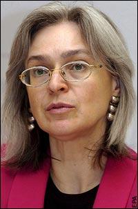 (5) Anna Politkóvskaya, la periodista rusa fue asesinada en 2006 tras investigar el conflicto ruso-checheno